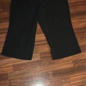 Lane Bryant Pants - Lane Bryant Striped Capris